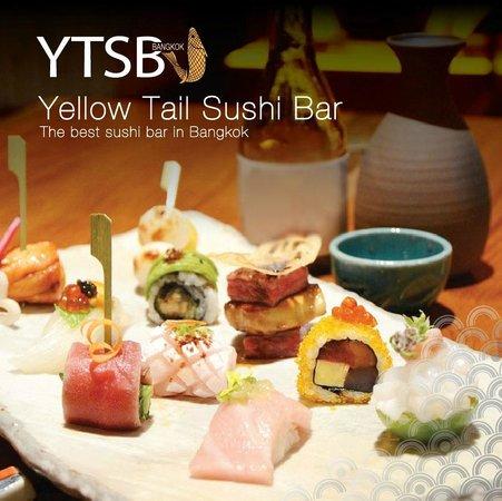 YTSB - Yellow Tail Sushi Bar: Mixed sushi - Make to your order