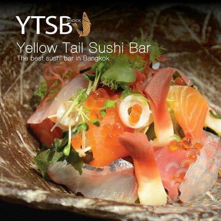 YTSB - Yellow Tail Sushi Bar: SASHIMI Salad