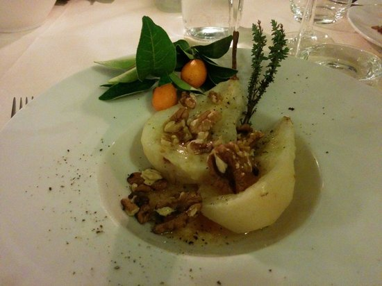 Refectorium : Antipasto di pere calde