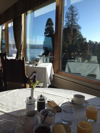 Stonefield Castle Hotel: Breakfast view