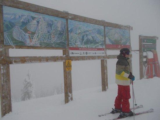 RED Mountain Resort : At the top of Granite.