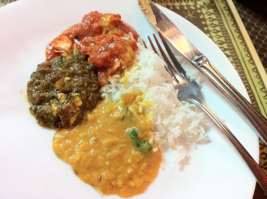 Master of India Restaurant : Delicious!