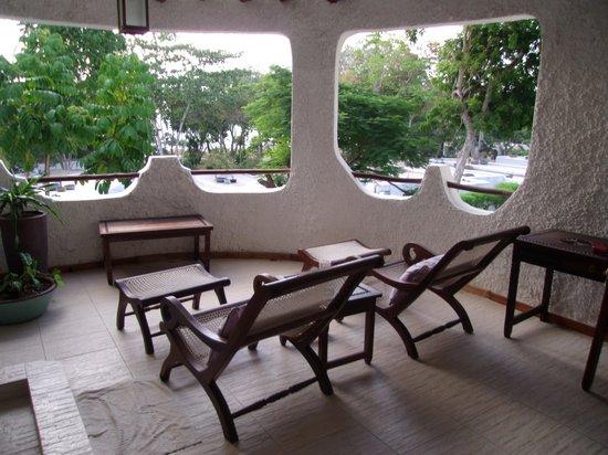 Ocean Village Club: Terrasse de la chambre