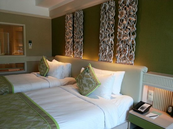Shangri-La's Rasa Sentosa Resort & Spa : Room temperature was comfortable