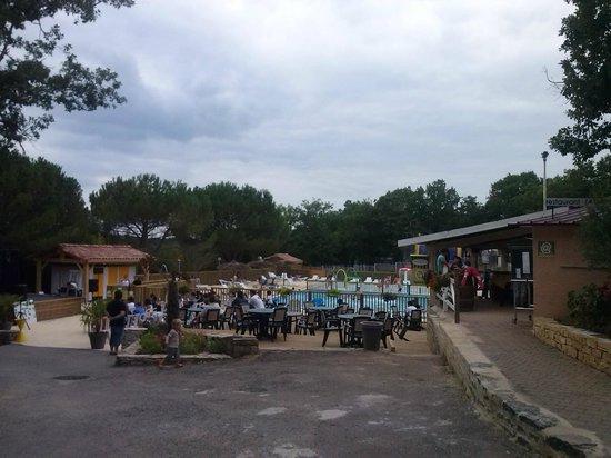 Camping Campéole Les Reflets du Quercy : La piscine