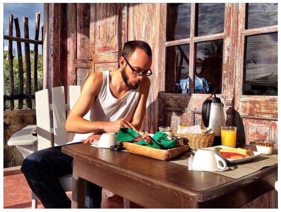 Posada Lamar : Breakfast @ Rubi