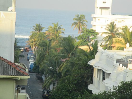 Great Southern Hotel (GSH) Colombo : view from the balcony of room no.507