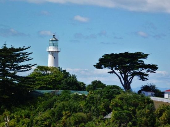 Tiritiri Matangi Island: lighthouse
