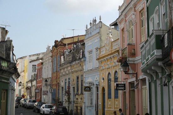 Pousada Esmeralda: promenade dans les rues du quartier