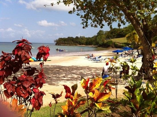 St. James's Club Morgan Bay: beachfront view