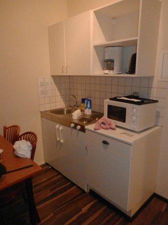 Fosshotel Baron: kitchen