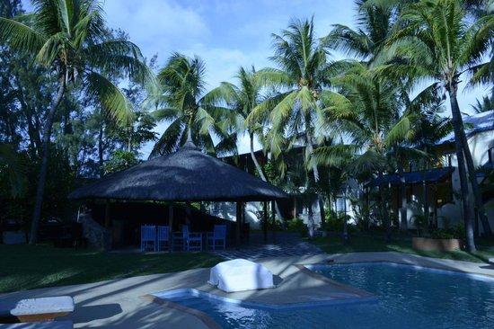 Le Grand Bleu Hotel: Pool Area