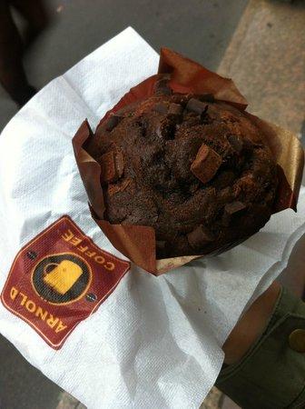 Arnold Coffee: muffin al cioccolato