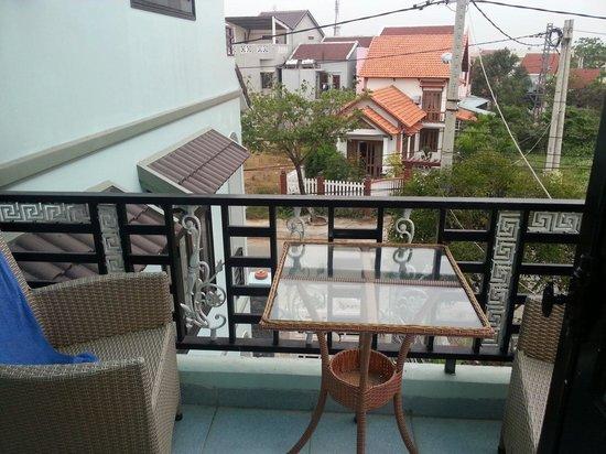 Magnolia Garden Villa: View from the balcony
