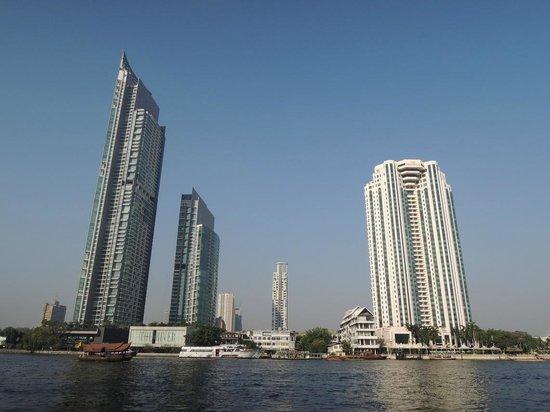 Shangri-La Hotel,Bangkok: View from the Room