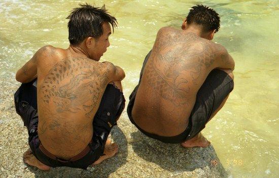 Kata Beach: pescatori