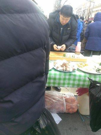 Dongdaemun Market: Vendors