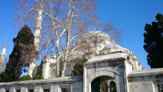 Süleymaniye-Moschee: Общий вид