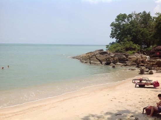 Century Langkawi Beach Resort: small beach near the pool