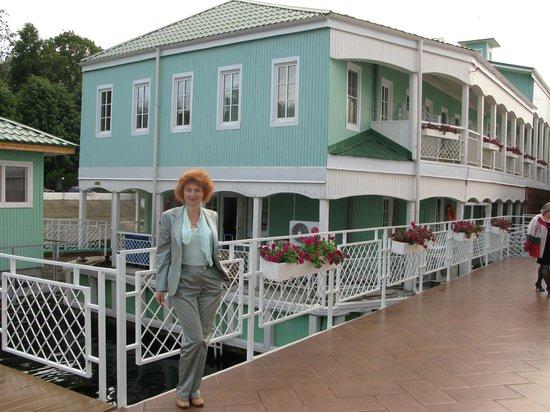 Volzhskaya Zhemchuzhina Hotel: Большая волжская терраса