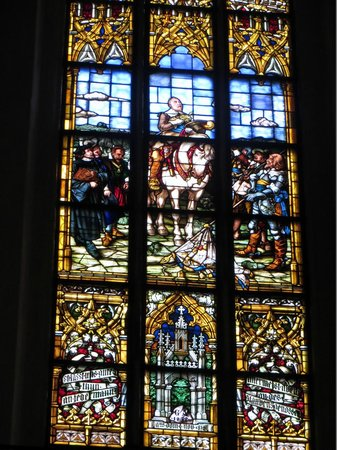 St. Thomas Church (Thomaskirche) : Gustav-Adolf-Fenster