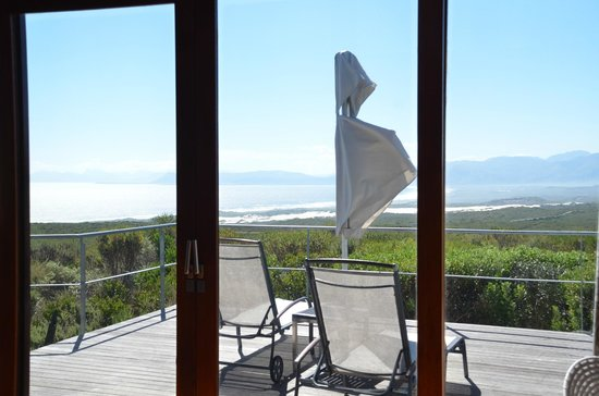 Grootbos Private Nature Reserve: View from terrace