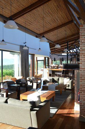 Grootbos Private Nature Reserve: Lounge area