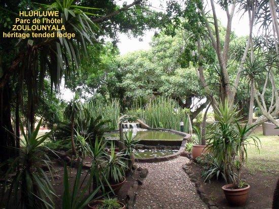 Zulu Nyala Game Lodge: Le parc de l'hôtel