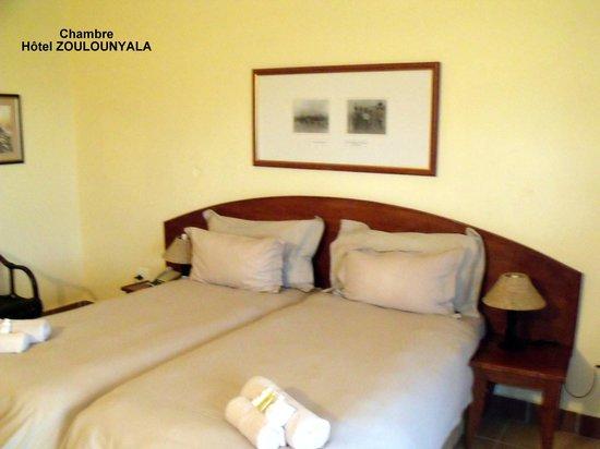 Zulu Nyala Game Lodge : La chambre