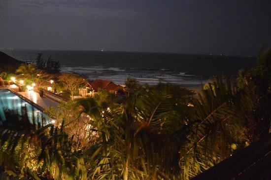 Romana Resort & Spa: Night view from room 233