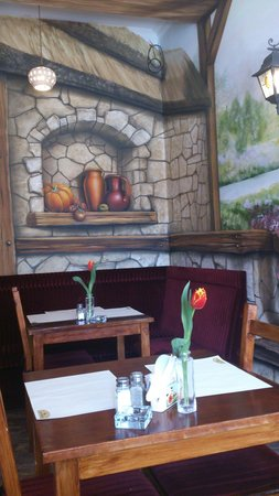 Chata Smakosza Restaurant: Wnętrze Chaty Smakosza