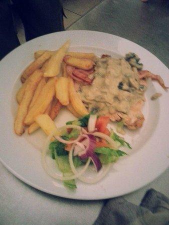 Cafe Melissa: Chicken bacon and mushroom