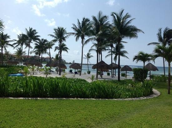 Villas Del Mar: view from patio unit C-105