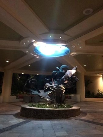 Sheraton Waikiki : エントランス