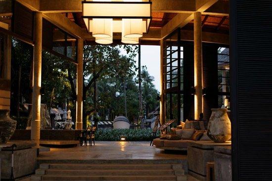 The Dewa Koh Chang: der erste Eindruck (Lobby)