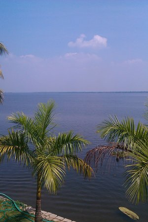 The Park on Vembanad Lake: View from the Suite Balcony