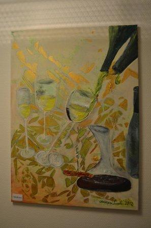 Christiana's WeinArtHotel: Art