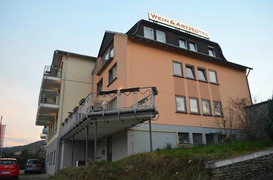Christiana's WeinArtHotel: Hotel