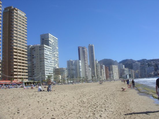 Dynastic Hotel : levante beach  feb 2014