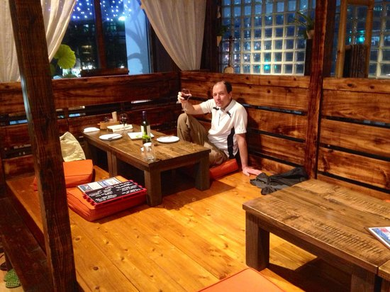 The Ambience Is Traditional Okinawan Japanese Inside With