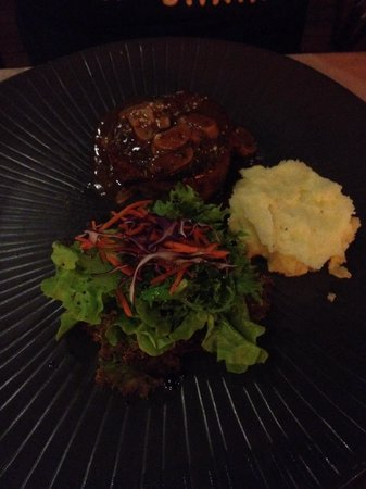 Bamboo Kitchen : Filet mignon