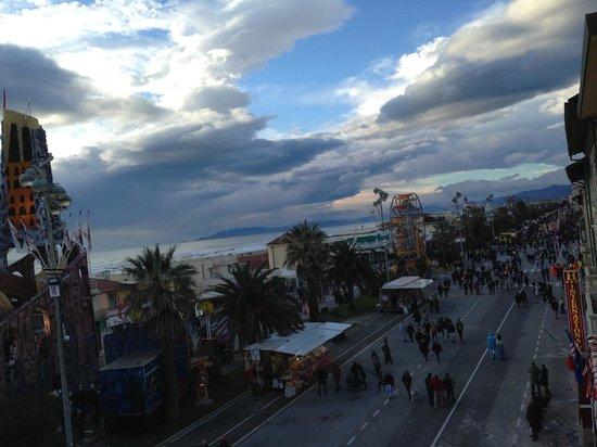 La passeggiata a Carnevale
