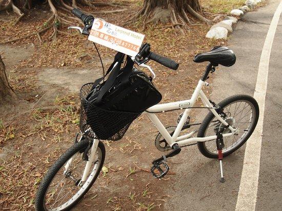 Legend hotel: レンタルの自転車