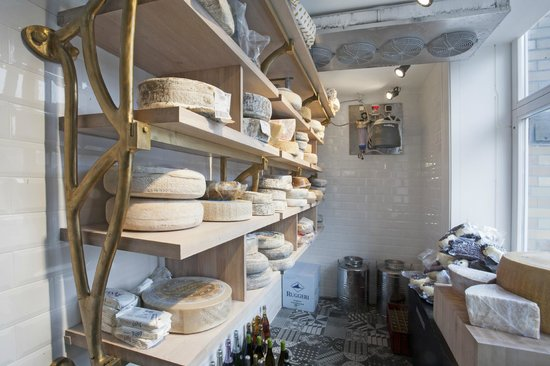 "La Bottega Gastronomica: Cheese ""room"""