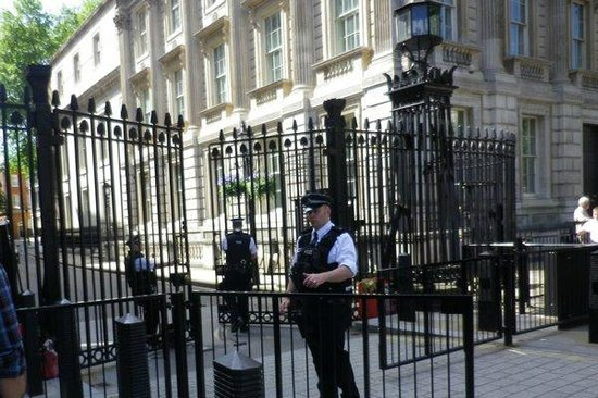 Downing Street: Security gate