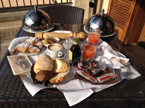 Hotel Dei Giardini: La colazione in camera...una delizia