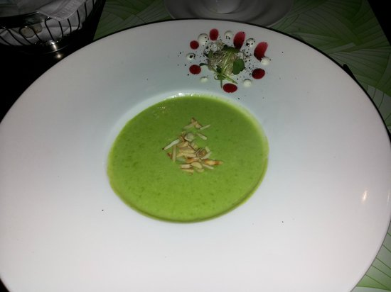 Mini: Daily cream soup-peas soup