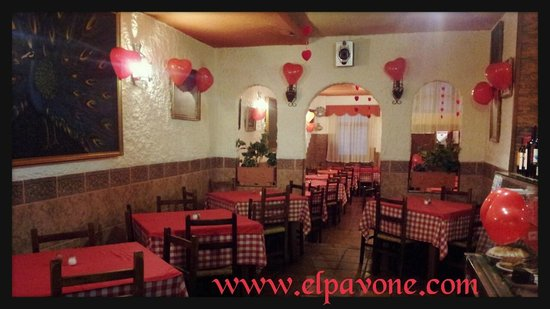 Pizzería El Pavone - SanValentín'14