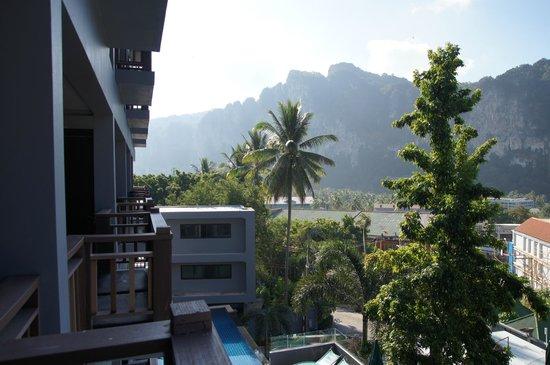 Krabi Cha-Da Resort : Вид с балкона