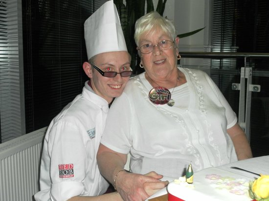 Restaurant VMF: Chef Michael & his Nan